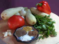 Chabachi ingredientai